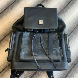 { MCM } Brandenburg Backpack in Visetos Black